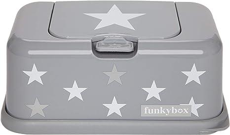Funky Box FB13 Funkybox - Cajita para toallitas húmedas, color gris ...