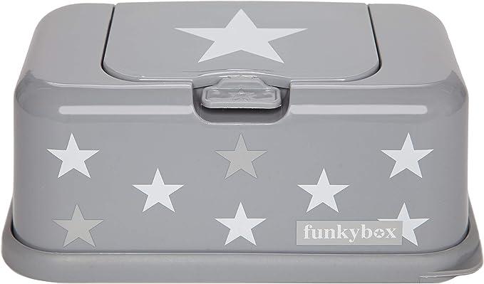 Funky Box FB04 Funkybox color azul dise/ño estrella Cajita para toallitas h/úmedas