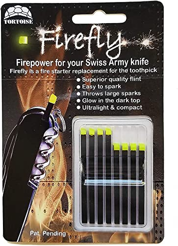 Firefly Variety 8 Pack – Fire Starter Accessory for Swiss Army Victorinox Knives