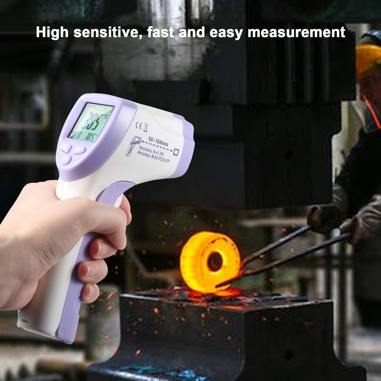 Leepesx Probador de Temperatura o/ído Frente infrarrojo Digital infrarrojo Mini