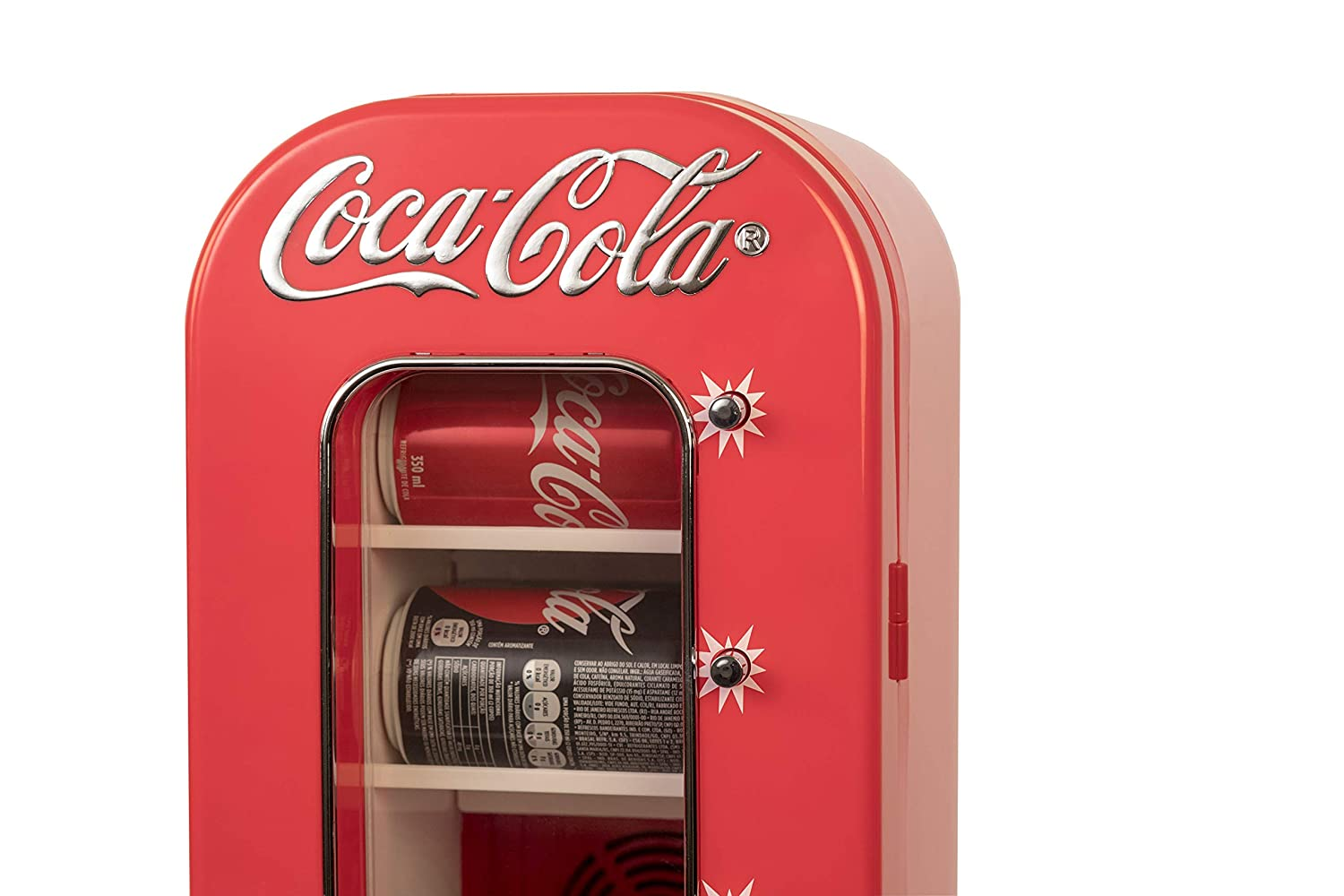 Coca-Cola 10 Can Vending Cooler (Renewed)