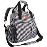 Diaper Bag Backpack for Baby Care, Multi Function Waterproof Insulated and Cooler Tote Travel Backpack with 11 Spacious Pockets (Adjustable Straps, Nappy Bag, Tissue Pocket) - by Sable
