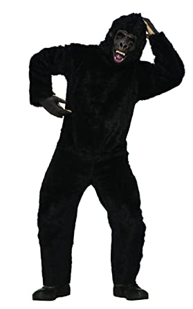 Amazon.com: Foro de los hombres Gorila Costume, OS, Marrón ...