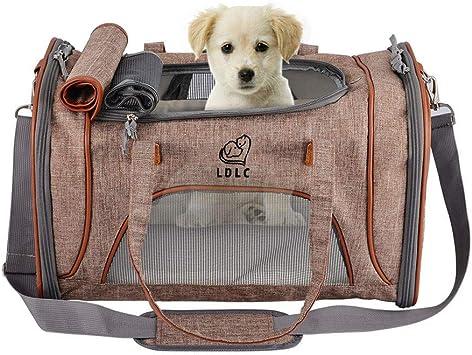 Cuscino Caldo y Morbido DOG-WELL Cuccia Letto per Animali Domestici Elegante e Comoda Forma casa Removibile e Pieghevole per Cani e Gatti