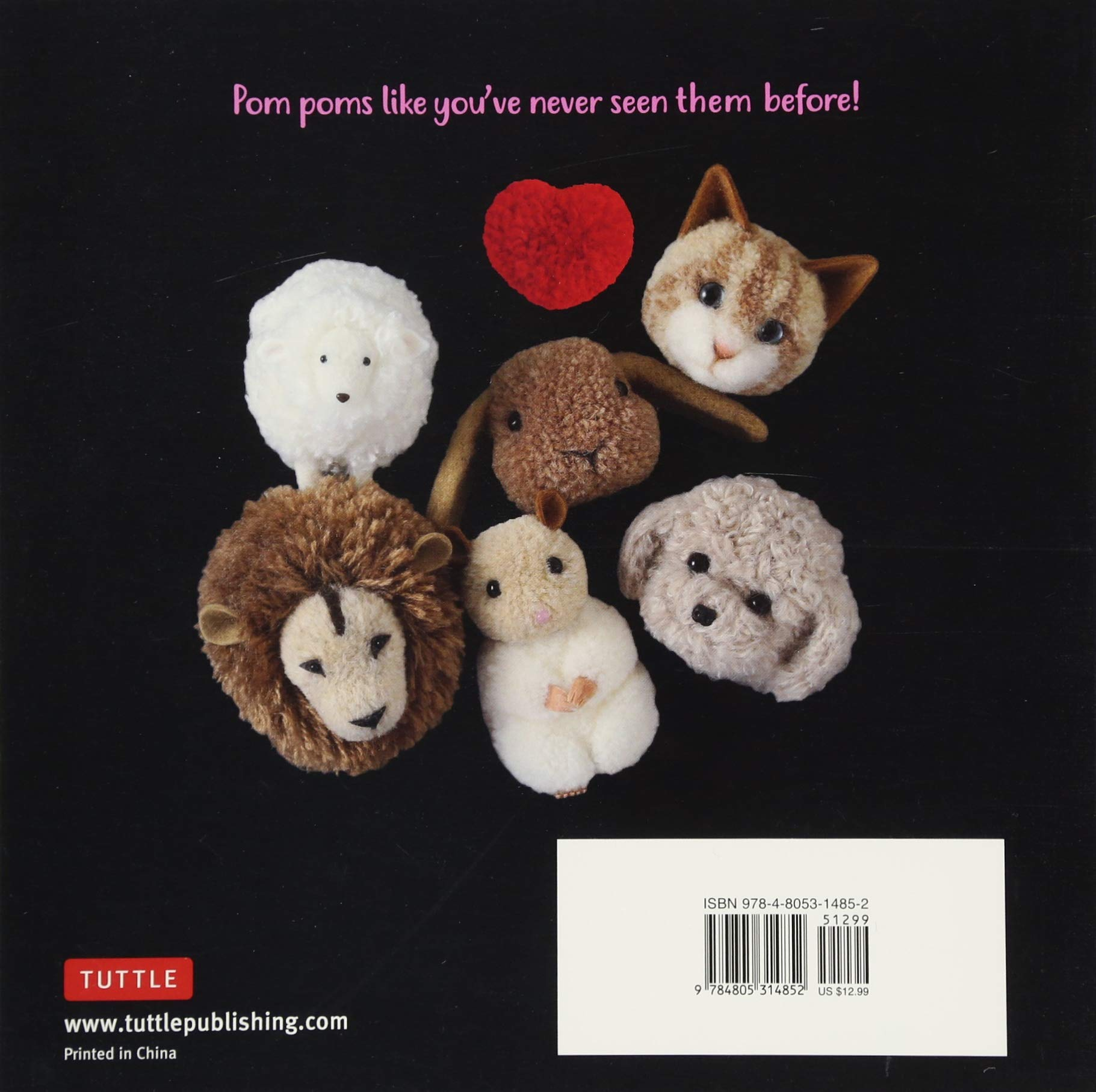 Adorable Pom Pom Animals: Dogs, Cats and Other Woolly Friends by Tuttle Publishing (Image #3)
