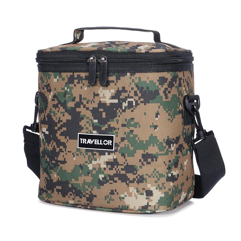 insulated lunch bag meal bag travellors tote box cooler cooler for work men. Black Bedroom Furniture Sets. Home Design Ideas