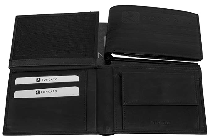 Tracolla uomo ROMEO GIGLI nera borsa borsello piatto multiscomparto F386 cb9035fe239
