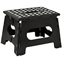 Folding Step Stool - The Lightweight Step Stool is Sturdy Enough to Support Adults and Safe Enough for Kids. Opens Easy…