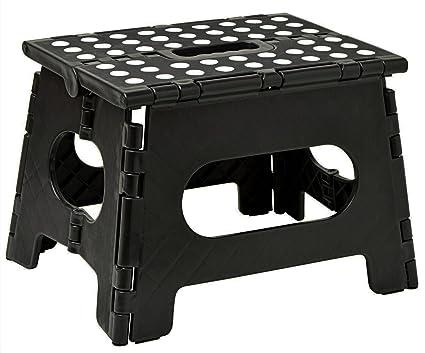 Amazon.com: Taburete plegable, el taburete ligero es lo ...