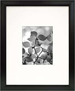MCS 16x20 Inch Arlington Frame With 8x10 Mat Opening Black 65580