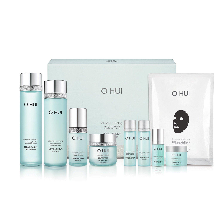 [オフィ/ O HUI] OHUI Miracle AQUA 4 PIECES Promition SPECIAL SET/ミラクルアクア4種スペシャルセット+ Sample Gift (海外直送品)   B07CQ2TVB9