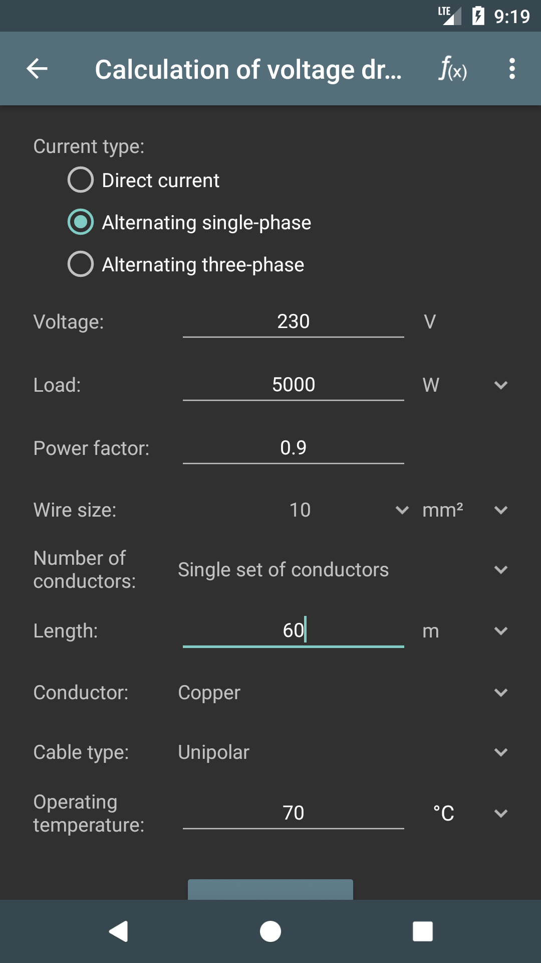 Amazon.com: Electrical Calculations PRO Key: Appstore for Android