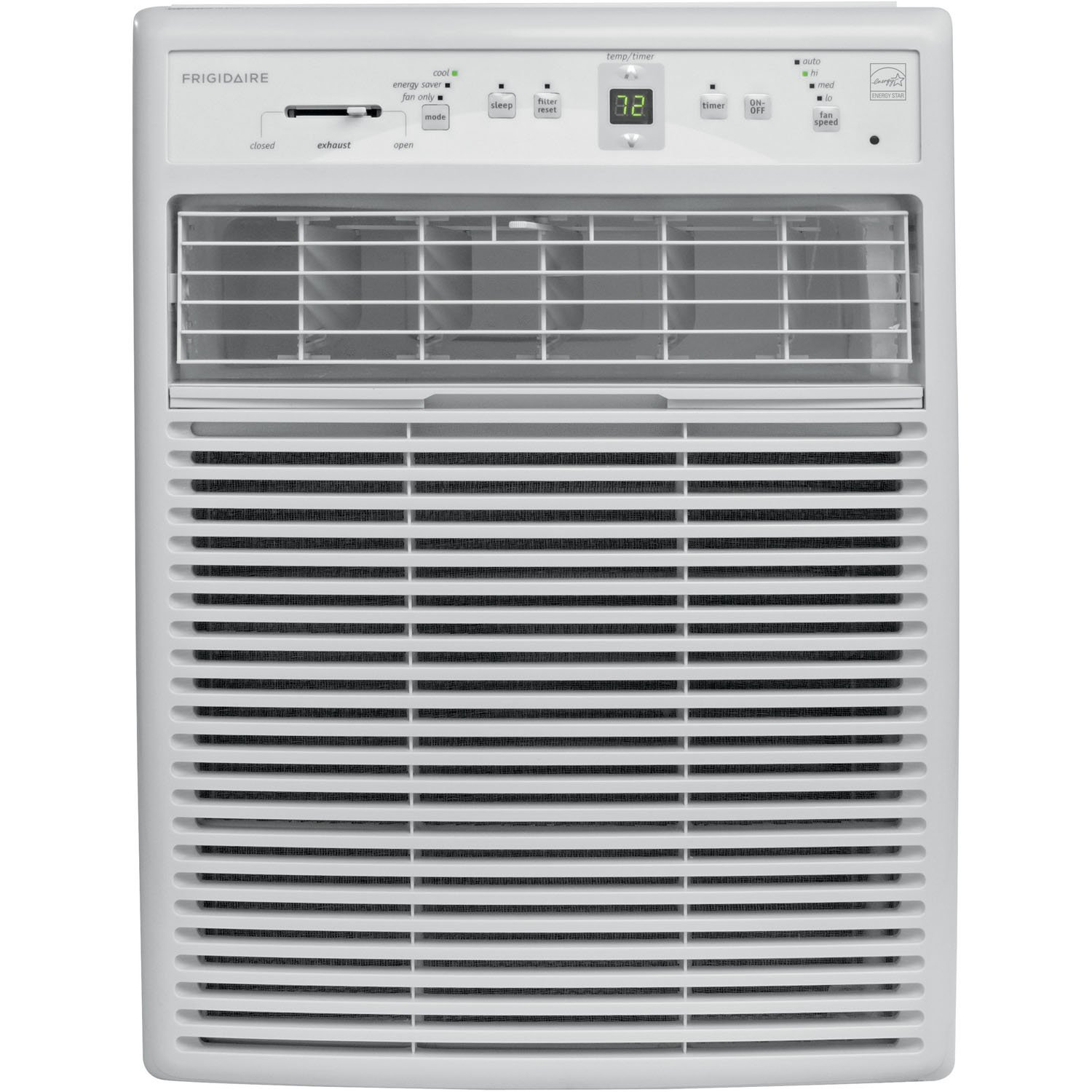 Amazon.com: Frigidaire FFRS0833Q1 8,000 BTU 115V Slider/Casement Room Air  Conditioner with Full-Function Remote Control: Home & Kitchen