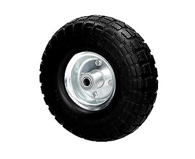 Rueda carretilla goma 4.10/3.50 – 4 PU bollwage neumático carretilla de rueda de repuesto