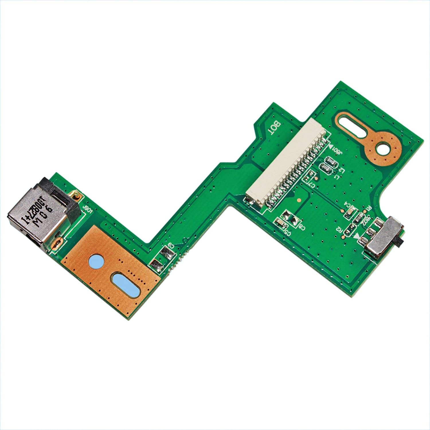 DC POWER JACK SWITCH BOARD Replacement FOR ASUS N53S N53SV N53SQ N53SI N53SL0 GinTai