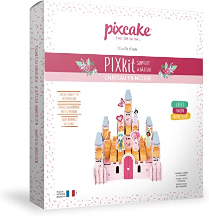 Pixcake Pixkit Château De Princesse Présentoir à Gâteau