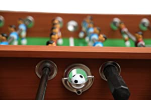 kick legend foosball table ball return