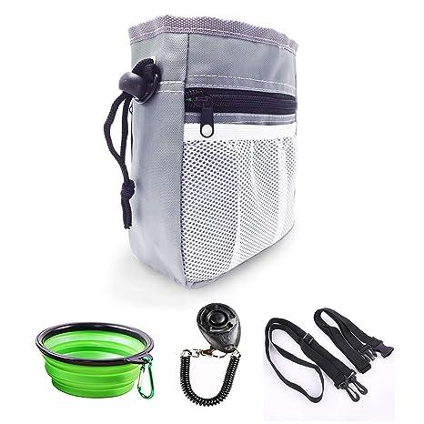 Amazon.com: Musonic Bolsa de entrenamiento para perro con ...