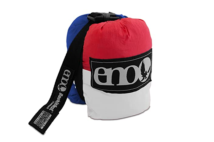 ENO - DoubleNest Hammock is versatile, durable, and compact, making it perfect for camping, hiking