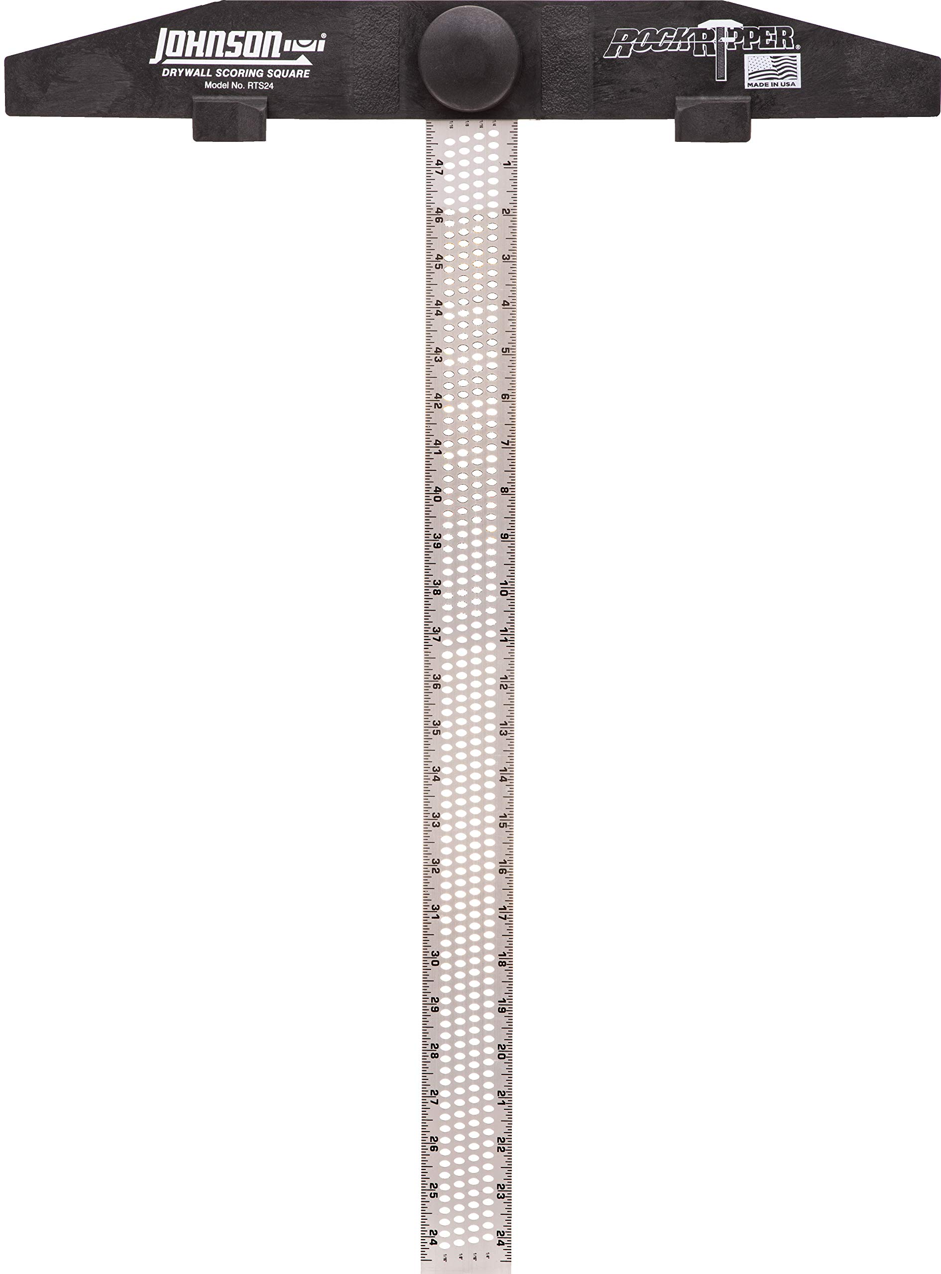 Johnson Level & Tool RTS24 24-Inch RockRipper - Drywall Scoring Square