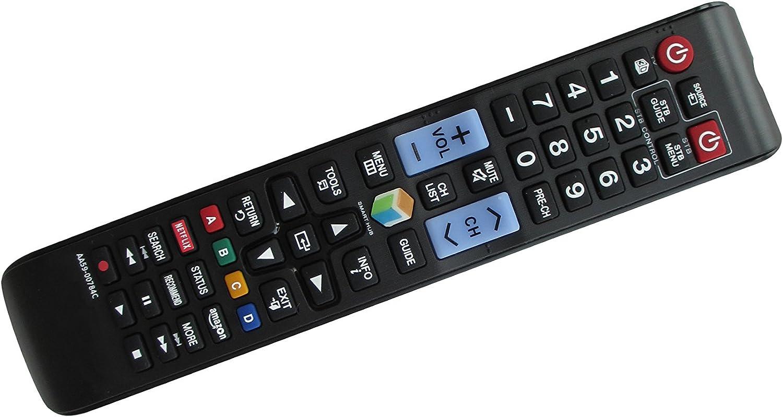 DEHA TV Remote Control for Samsung UE55JU6412U Television