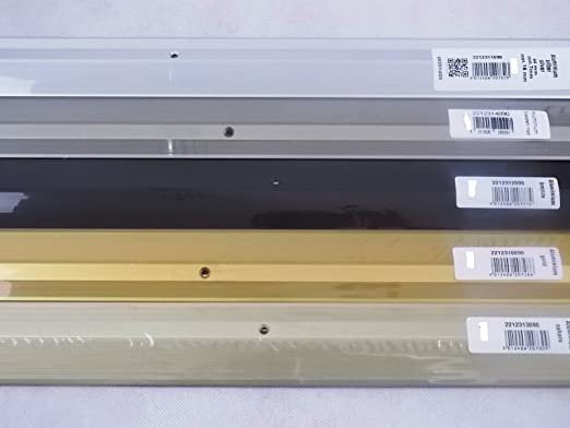 LPS220 Anpassungsprofil Nr 221 44mm Breite edelstahloptik matt 90cm L/änge