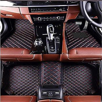 2005 2006 2007 Suzuki Aerio Sedan Brown Driver /& Passenger Floor GGBAILEY D3308A-F1A-CH-BR Custom Fit Car Mats for 2002 2003 2004