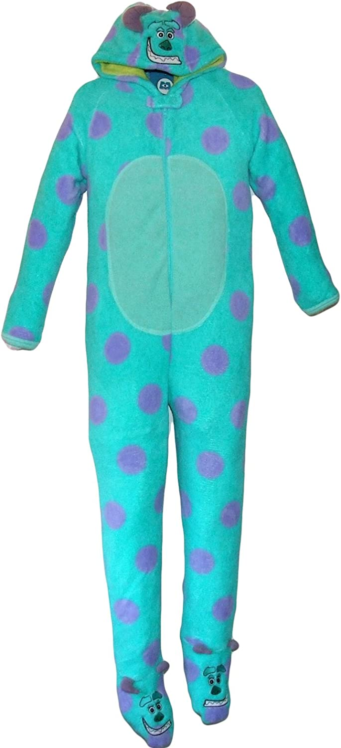 Amazon Com Primark Essentials Boys Disney Monsters Inc Onesie Sully Fleece Sleepsuit Costume Pyjamas 9 10 Years Purple Clothing