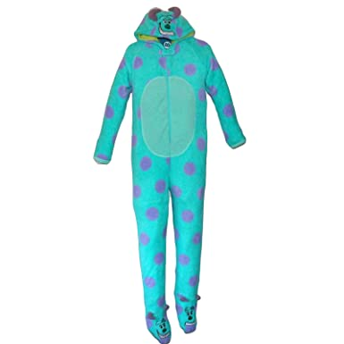 Primark Essentials Boys Disney Monsters Inc. Onesie Sully Fleece Sleepsuit Costume Pyjamas 9