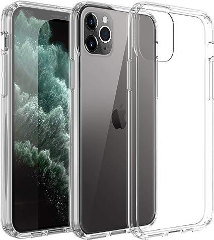 DONWELL - Custodia Trasparente per iPhone 11 PRO Max Slim AntiGraffio, Cover Posteriore Rigida in policarbonato TPU per iPhone 11 PRO Max 6,5