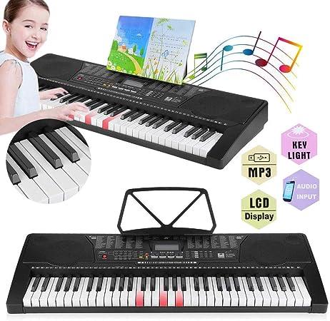 Keyboard Aprendizaje de teclado 61 teclas Bombilla teclas de ...