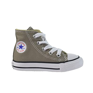 ee8df7caa674 Converse All Star CT HI Infant Toddlers Baby Shoes Malt Grey White 749509f  (4