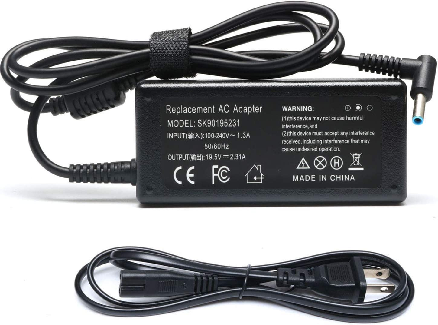 Adapter Charger 45W 19.5V for Hp elitebook Folio 1040 g1;719309-003 741727-001;ADP-45WD B HSTNN-CA40;Pavilion X2 11 13 15;Spectre Ultrabook X2 13-3000;Split 13 X 2;Stream 11 13 14;touchsmart 11 13 15