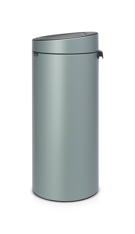 Brabantia Touch Bin 30 Liter.Brabantia Touch Bin New 30 Litre Metallic Mint Amazon Co Uk