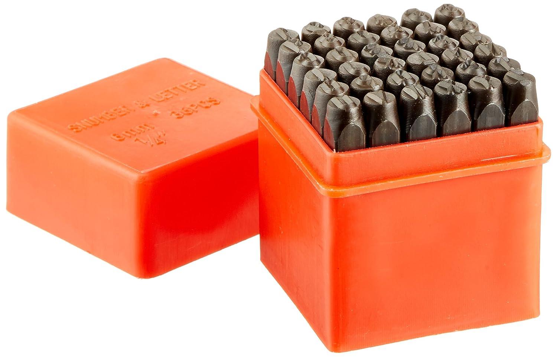 Neiko 02624 Classic Numbers & Letters Punch Set | Hardened, Heat Treated Steel | 36 Piece Set Ridgerock Tools Inc.