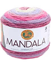 Lion Brand Yarn 525-200Mandala de Lana, Color fantasía (Wood Nymph), 1, 1