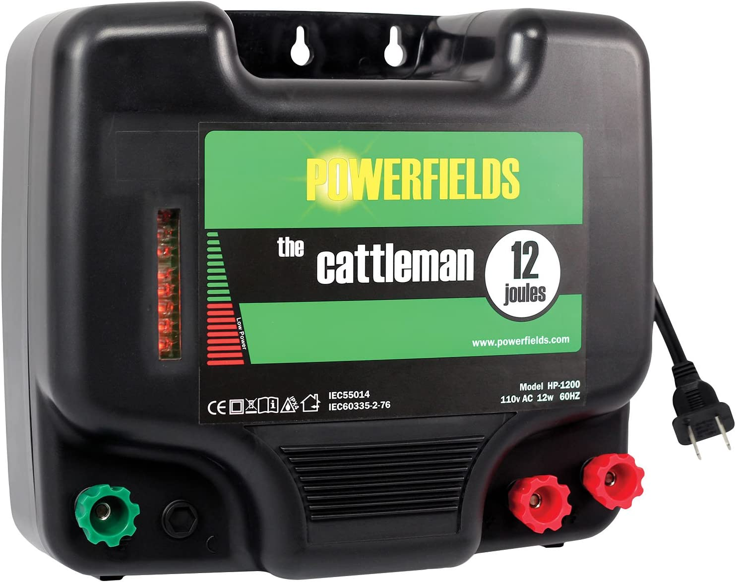 Farm Electric Fence Host Orchards Animal Ranch Electronic Fence System DC12V TOP