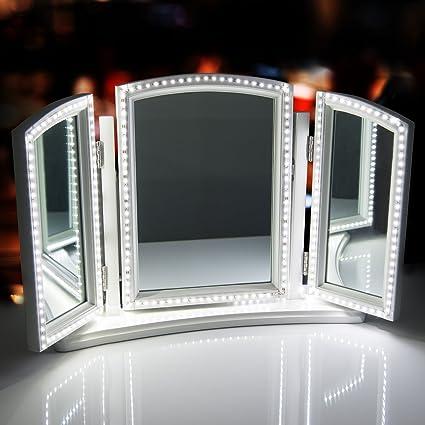 Sunnest 13ft 4m Led Vanity Mirror Lights Led Strip Kit For Makeup