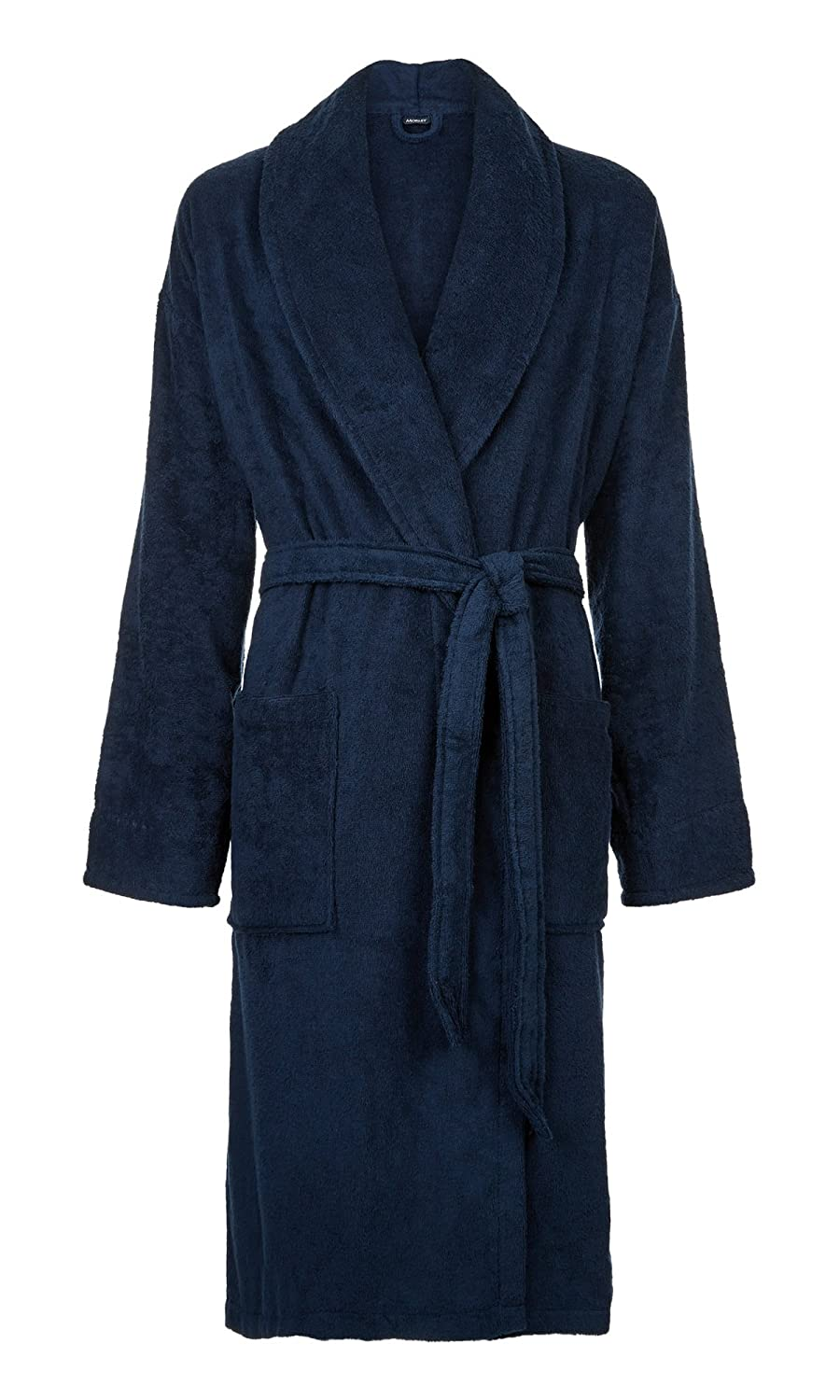 Morley Mens Slipstream Cotton Towelling Bath Robe Dressing Gown US07M