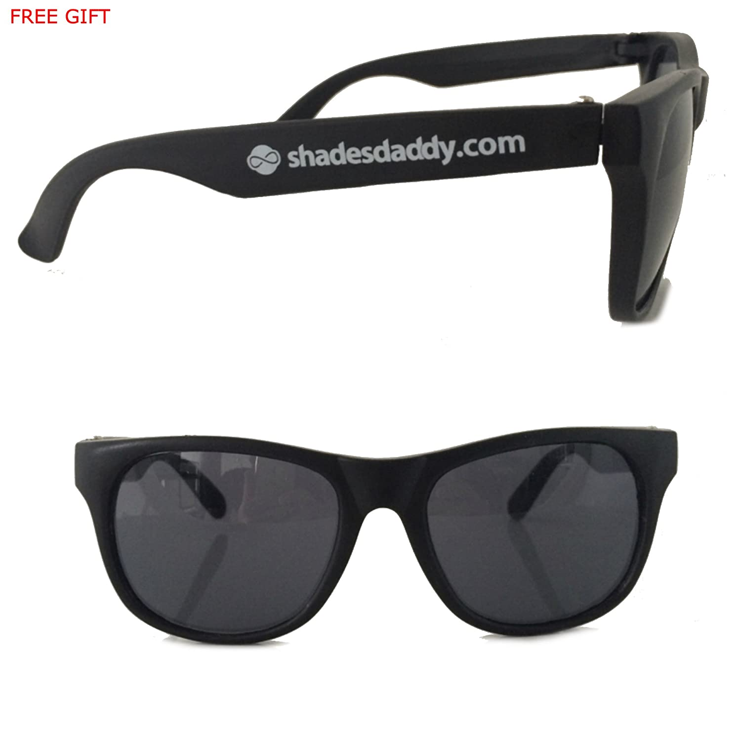 48fd7f306d Amazon.com  Black Replacement Temples (arms) Ray-ban Rb 2140 New Authentic + ShadesDaddy Glasses  Clothing