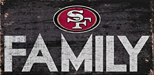 Fan Creations San Francisco 49ers Family Sign, Multi