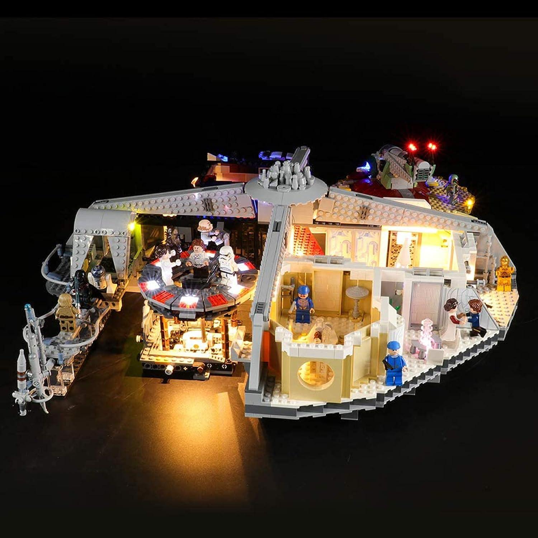 ADMLZQQ Conjunto de Luces Lightailing para (Star Wars The Empire Strikes Back Betrayal at Cloud City) Modelo de Construcción, Kit de luz LED Compatible con Lego 75222 (NO Incluido en Modelo)