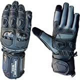 Biking Brotherhood Full Gauntlet Gloves (Black)