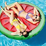 Intex-Luftbett Luftmatratze mit Form von Wassermelone, 183x 23cm (56283eu)