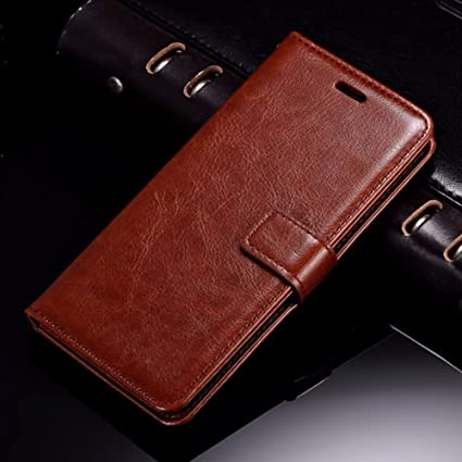 official photos e389f 857f0 XORB Mi Max 2 Flip Cover PU Leather Case Luxury Revel Touch PU Leather  Cover for Mi Max 2 Brown