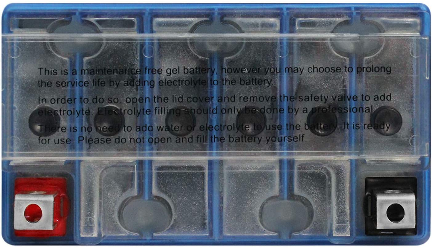 Batterie 12 V 10 Ah YTX12-BS Gel Nitro 51012 ZR 550 Zephyr B ZR550B 91-99