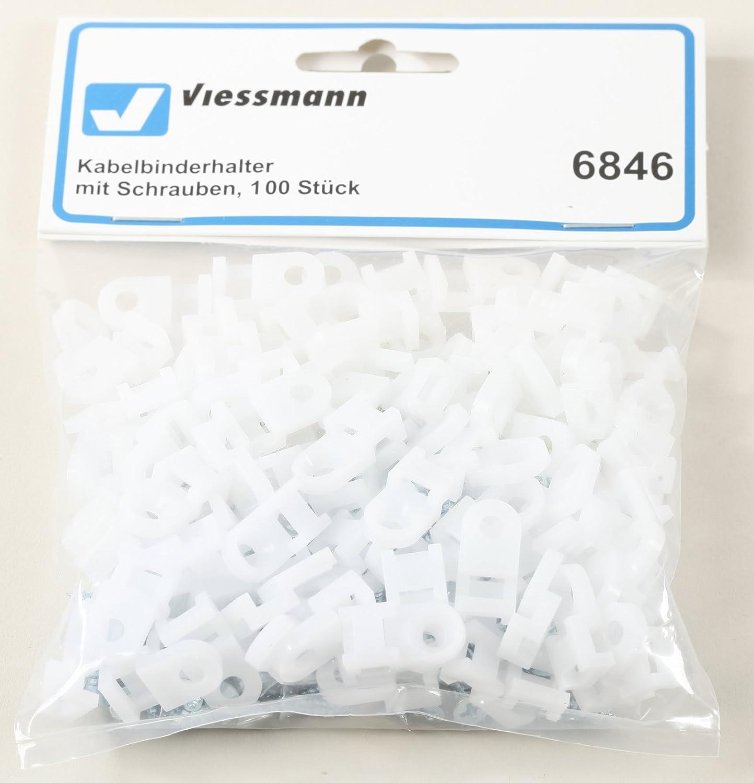 Viessmann 6846 - 100 Kabelbinderhalter, mit Schrauben: Amazon.de ...