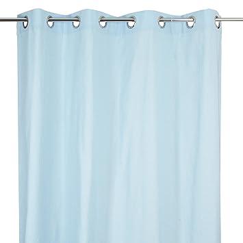 Rideau en coton bleu clair pour chambre enfant: Amazon.fr: Cuisine ...