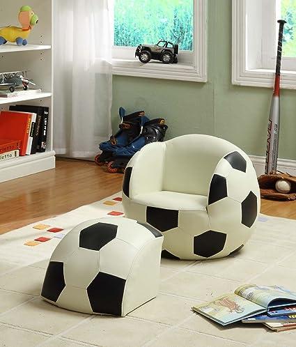 De balón de fútbol poco tema de la silla uniforme deportivo ...
