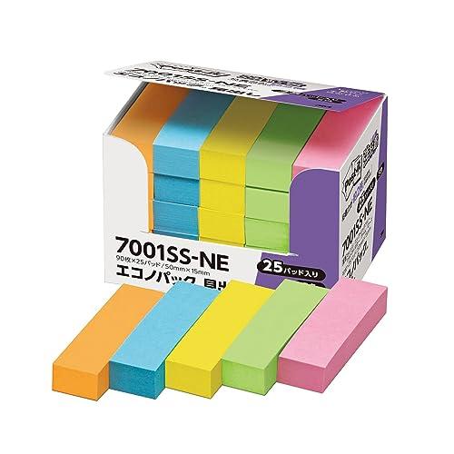 ポストイット付箋 ネオンカラー 700SS-NE